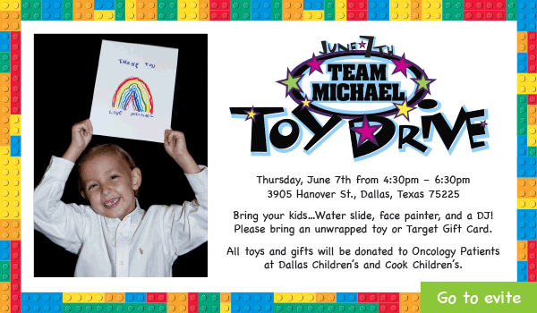 6th annual team michael toy drive june 7 2018 E